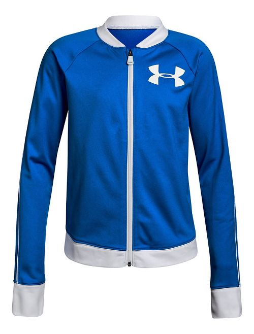 Under Armour Track Casual Jackets - Blue/White YXL