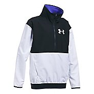 Under Armour Train to Game Cold Weather Jackets - White/Black YS