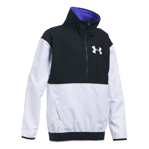 Under Armour Train to Game Cold Weather Jackets - White/Black YL
