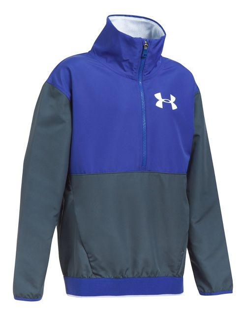 Under Armour Train to Game Cold Weather Jackets - Grey/Blue YL