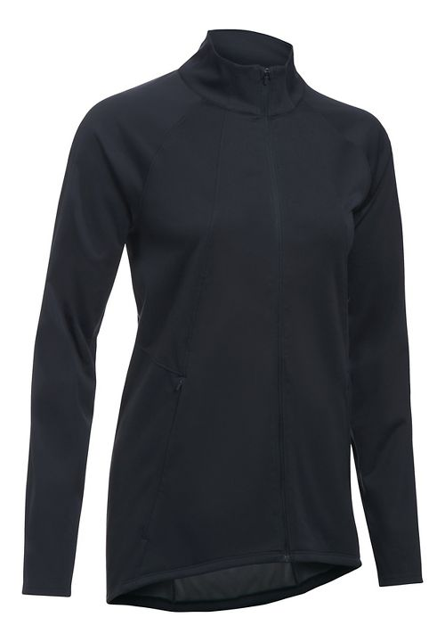 Womens Under Armour Pick Up The Pace Storm Reactor Running Jackets - Black S