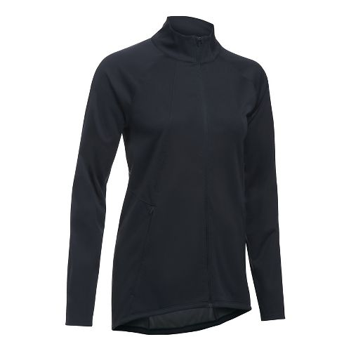 Womens Under Armour Pick Up The Pace Storm Reactor Running Jackets - Black XS