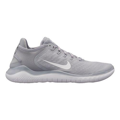 Mens Nike Free RN 2018 Running Shoe - Grey/White 10.5