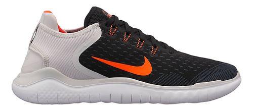 Mens Nike Free RN 2018 Running Shoe - Black/Crimson 10.5