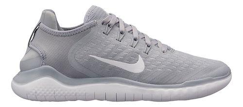 Womens Nike Free RN 2018 Running Shoe - Grey/White 8.5