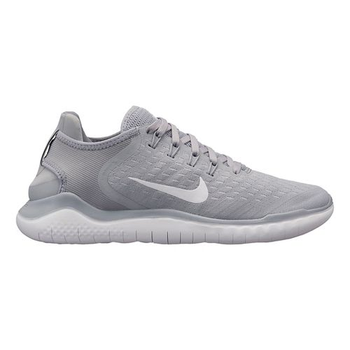 Womens Nike Free RN 2018 Running Shoe - Grey/White 8.5