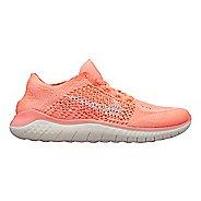 Womens Nike Free RN Flyknit 2018 Running Shoe - Crimson 8