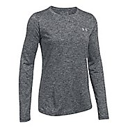 Womens Under Armour Tech Crew Twist Long Sleeve Technical Tops