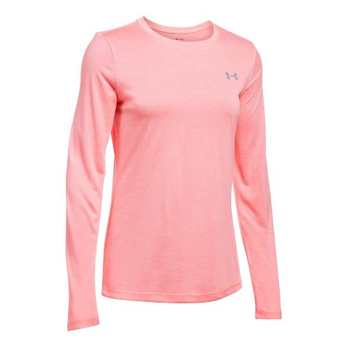 Womens Under Armour Tech Crew Twist Long Sleeve Technical Tops - Cape Coral XS