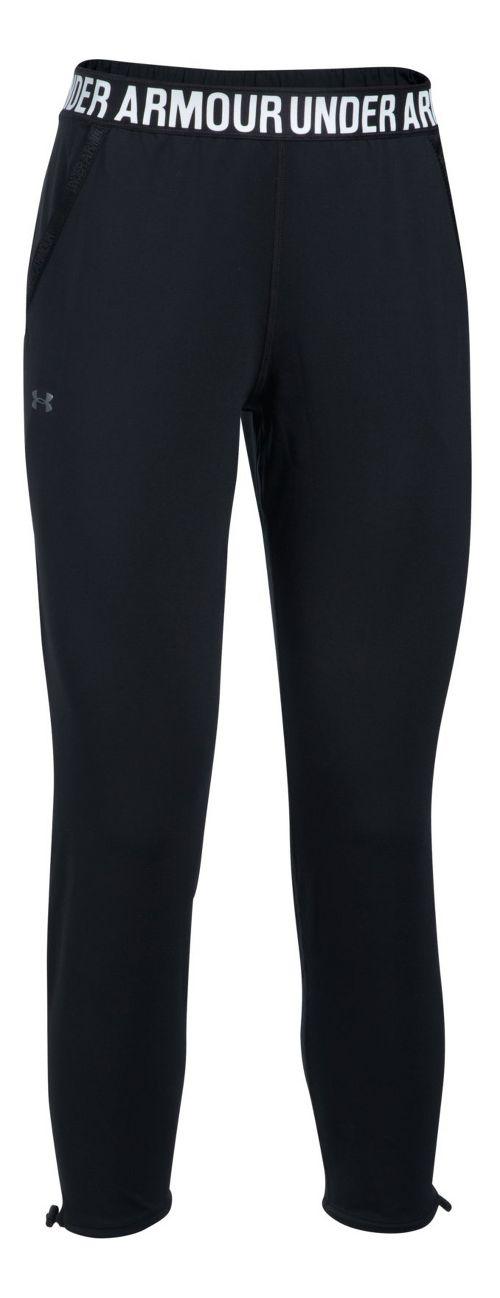 Womens Under Armour Downtown 2.0 Jogger Pants - Black/Black L