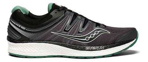 Mens Saucony Hurricane ISO 4 Running Shoe - Black/Green 10