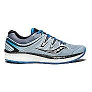 Mens Saucony Hurricane ISO 4 Running Shoe - Grey/Blue 14