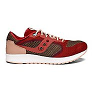 Mens Saucony Shadow 5000 EVR Casual Shoe - Red/Tan 8