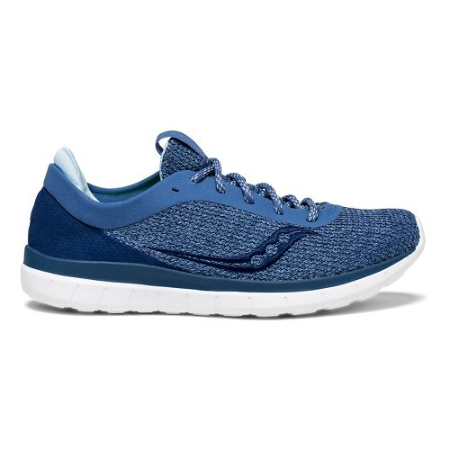 Womens Saucony Liteform Escape Casual Shoe - Blue 10