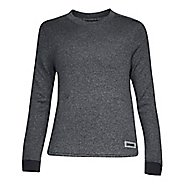 Womens Under Armour Sweater Fleece Crew Long Sleeve Technical Tops
