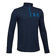 Under Armour Textured Tech 1/4 Zip Half-Zips & Hoodies Technical Tops - Navy/Blue YM