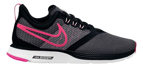 Kids Nike Strike Running Shoe - Black/Pink 5.5Y