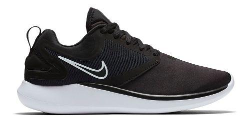 Kids Nike LunarSolo Running Shoe - Black/White 3.5Y