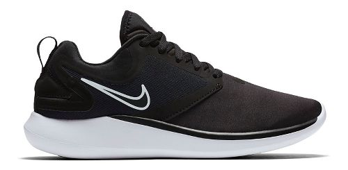 Kids Nike LunarSolo Running Shoe - Black/White 4Y