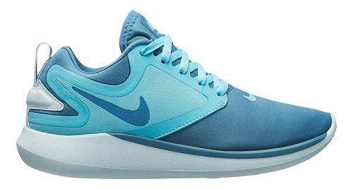 Kids Nike LunarSolo Running Shoe - Aqua 3.5Y