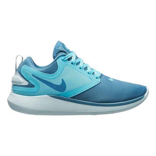 Kids Nike LunarSolo Running Shoe - Aqua 5Y