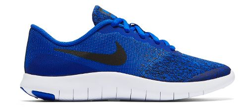 Kids Nike Flex Contact Running Shoe - Blue/Black 6.5Y