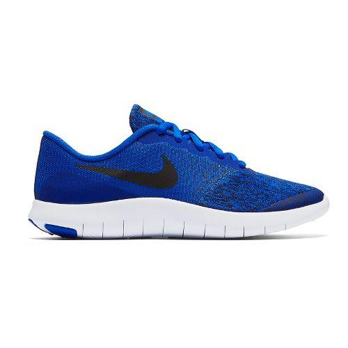 Kids Nike Flex Contact Running Shoe - Blue/Black 4.5Y