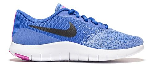 Kids Nike Flex Contact Running Shoe - Royal 5Y
