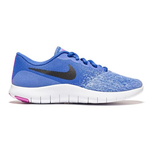 Kids Nike Flex Contact Running Shoe - Royal 5Y