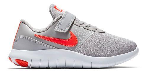 Kids Nike Flex Contact Running Shoe - Grey/Crimson 3Y