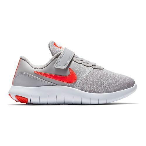 Kids Nike Flex Contact Running Shoe - Grey/Crimson 11C