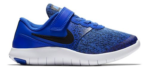 Kids Nike Flex Contact Running Shoe - Blue/Black 1Y