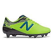 Kids New Balance Junior Furon 3.0 Dispatch FG Cleated Shoe - Yellow/Blue 4Y