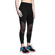 Womens Brooks Ghost High Waist Mesh Crop Pants