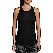 Womens Brooks Stealth Sleeveless & Tank Technical Tops - Black S