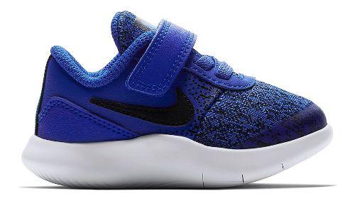 Kids Nike Flex Contact Running Shoe - Blue/Black 10C