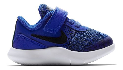 Kids Nike Flex Contact Running Shoe - Blue/Black 6C