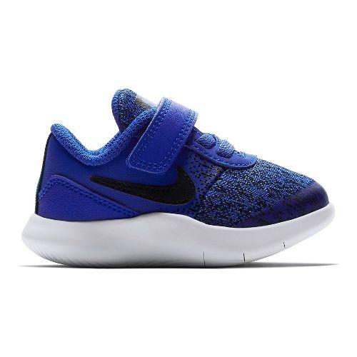 Kids Nike Flex Contact Running Shoe - Blue/Black 8C