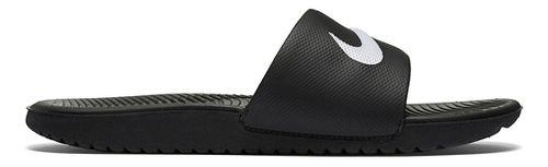 Kids Nike Kawa Slide Sandals Shoe - Black 1Y