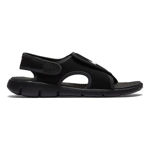 Kids Nike Sunray Adjust 4 Sandals Shoe - Black 1Y