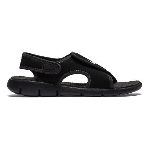 Kids Nike Sunray Adjust 4 Sandals Shoe - Black 4Y