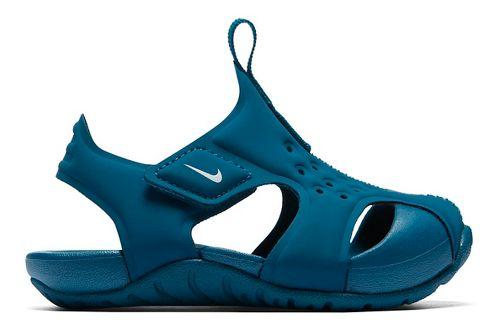 Kids Nike Sunray Protect 2 Sandals Shoe - Teal 10C