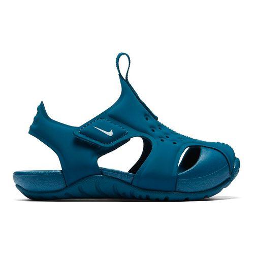 Kids Nike Sunray Protect 2 Sandals Shoe - Teal 6C