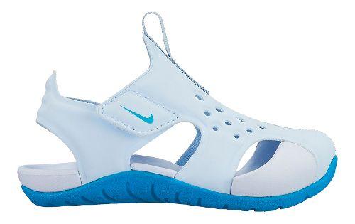 Kids Nike Sunray Protect 2 Sandals Shoe - Neo Turquoise 9C