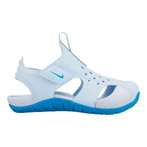 Kids Nike Sunray Protect 2 Sandals Shoe - Neo Turquoise 8C