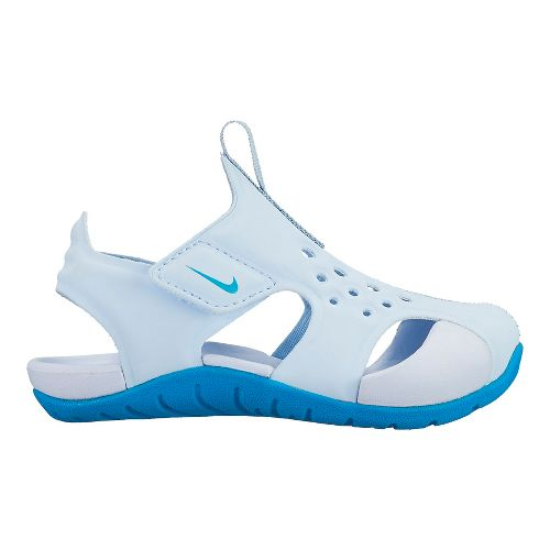 Kids Nike Sunray Protect 2 Sandals Shoe - Neo Turquoise 9C