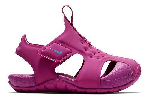 Kids Nike Sunray Protect 2 Sandals Shoe - Hyper Magenta 10C