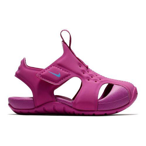 Kids Nike Sunray Protect 2 Sandals Shoe - Hyper Magenta 10C