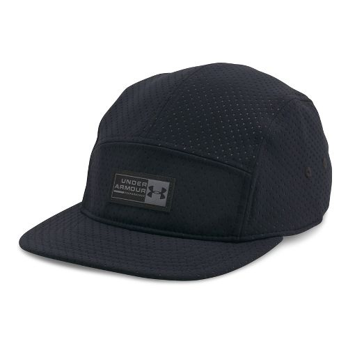 Mens Under Armour Deboss Camper Headwear - Black/Graphite