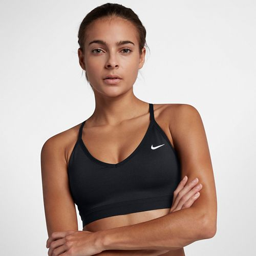 Womens Nike Pro Indy Bra Sports Bra Bras - Black XS